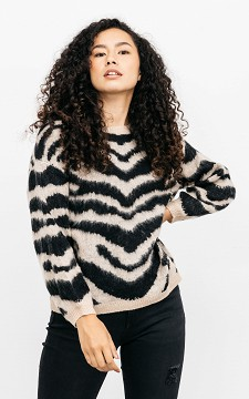 Sweater Veronique - Patterned sweater