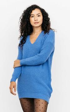 Pullover Maj - Oversized Pullover mit V-Ausschnitt
