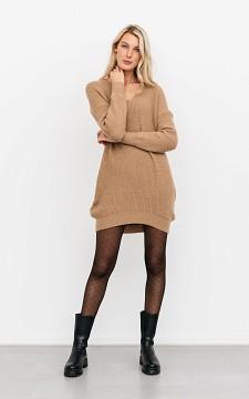Trui Maj - Oversized trui met een v-hals