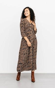 Dress Milana - Patterned maxi dress