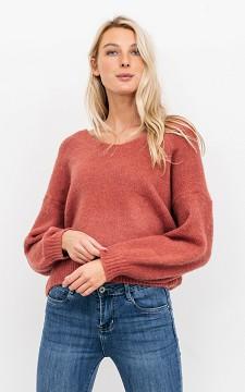 Sweater April - V-neck sweater