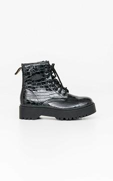 Boots Celeste - Lak boots met hoge zool