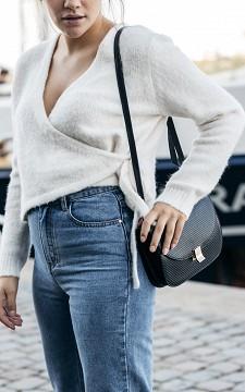 Bag Leslie - Shoulder bag with gold-coated clasp