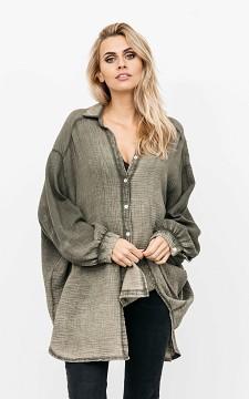 Blouse Marleen - Oversized blouse van katoen