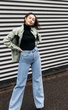 Jeans Loek - High waist 5-pocket wijde jeans
