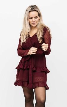 Kleid Jenny - Cooles Kleid aus leicht transparentem Stoff