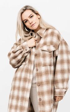 Mantel Romy - Cooler oversized Mantel mit Taschen