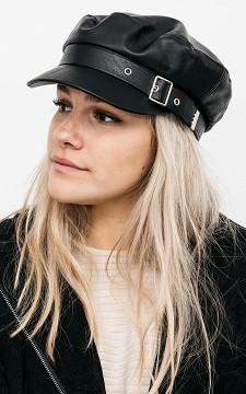 Pet Zoe - Leather look baker hat
