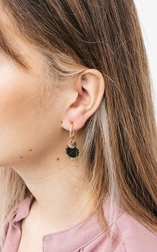 Oorbellen Dewina - Goudkleurige oorbellen van stainless steel