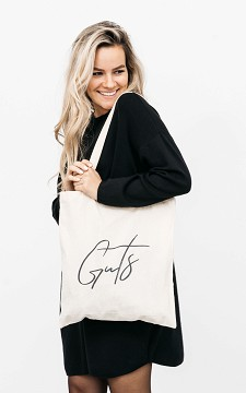 Tas Gusto - Katoenen tas met opdruk