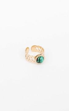 Ring Simone - Verstelbare ring van stainless steel