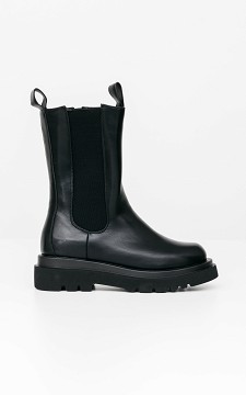 Boots Fiona - Coole Chelseaboots mit dicker Sohle