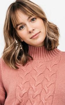 Pullover Melanie - Comfy Zopfstrick-Pullover