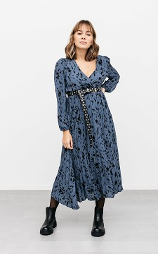 Kleid Jessica - Wickelkleid mit Falten