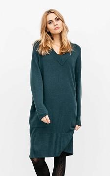 Dress Helga - Long dress with pockets