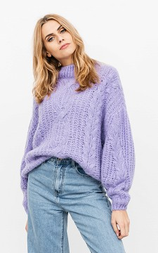 Sweater Ramon - Knitted sweater with a round neckline