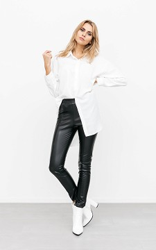 Trousers Lina - Leather-look trousers