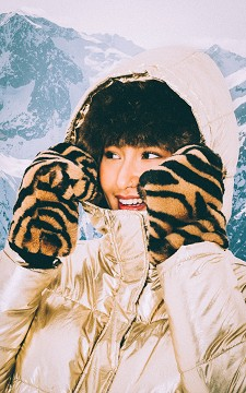 Glove Anne - Fake fur mittens
