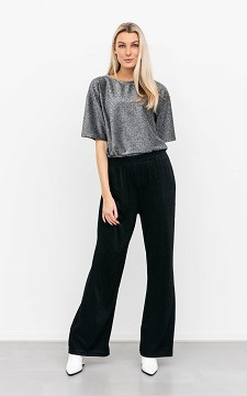 Trousers Lieze - Glittery trousers with pockets