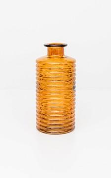 Vase Heleen - Ribbed glass vase