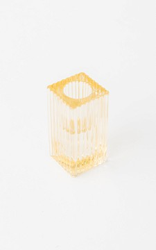 Dinner Candle Holder Carlyn - Square candleholder