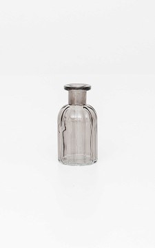 Vase Mina - Ribbed glass vase