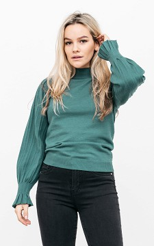 Top Jade - Long sleeve, turtleneck top