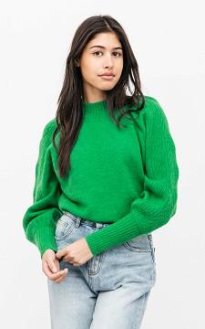 Pullover Marrit - Pullover mit Ballonärmeln