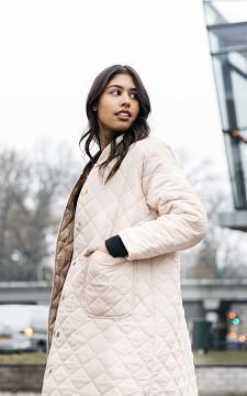 Jacket Iris - Long coat with pockets
