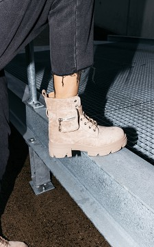 Boot Valerie - Suéde-look boots