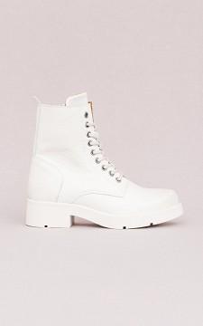 Boots Anneke - Veter boots van leer