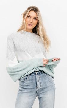 Sweater Paulien - Patterned sweater