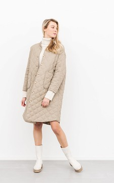 Jacket Iris - Long coat with pockets