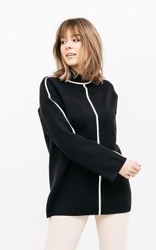 Pullover Kirsten - Eleganter Pullover mit Stehkragen
