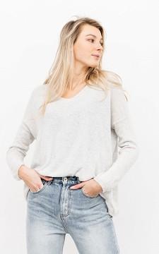 Pullover Joanna - Basic Pullover mit V-Ausschnitt
