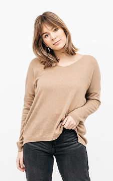 Sweater Joanna - V-neck sweater