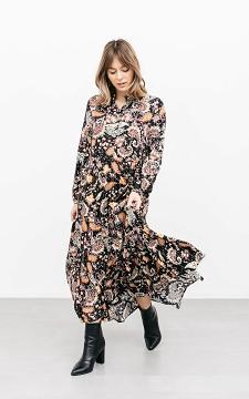 Dress Wessel - Glittery maxi dress