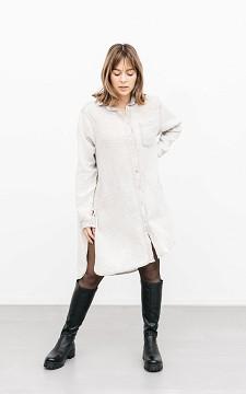 Blouse Erin - Oversized blouse met borstzak