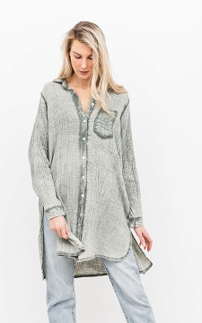 Bluse Erin - Oversized Baumwoll-Bluse