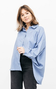 Bluse Carrie - Hübsche oversized Bluse