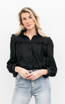 Blouse Emmalie - Blouse with ruffles