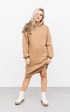 Kleid Amelie - Sweaterkleid mit Kapuze