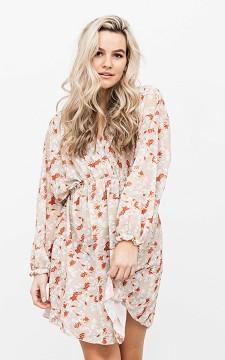 Kleid Daria - Kurzes Kleid mit floralem Muster