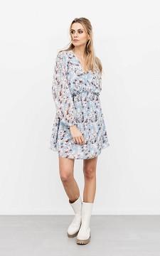 Dress Daria - Patterned, V-neck dress