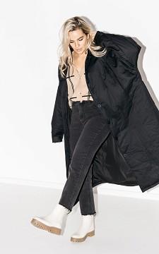 Jacket Ellen - Oversized coat with buttons