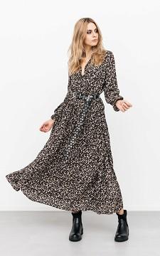 Jurk Rens - Maxi jurk met bloemenprint
