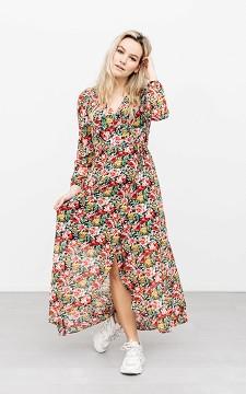 Dress Hilde - Floral patterned maxi dress