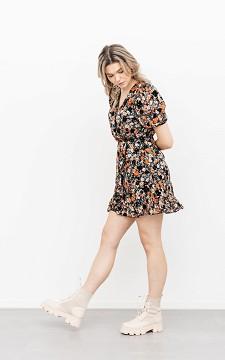Kleid Boliva - Niedliches Blumenkleid mit Puffärmeln