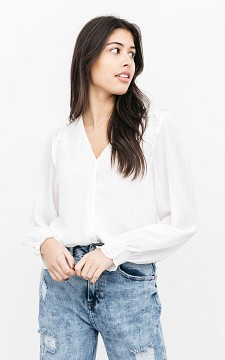 Blouse Marion - Blouse with ruffles