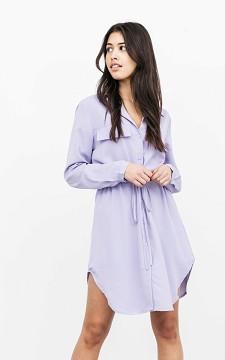 Dress Yentl - Basic dress with a waist tie